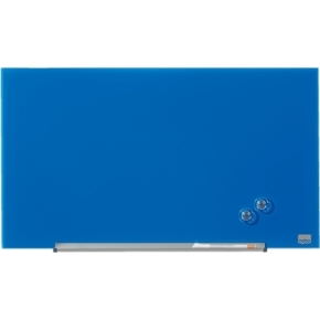 Nobo Diamond glastavle i blå - 38,1 x 67,7 cm