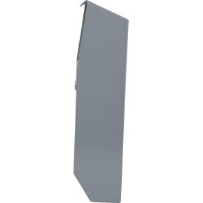 Grey Væghængt udendørs askebæger, pulverlakeret