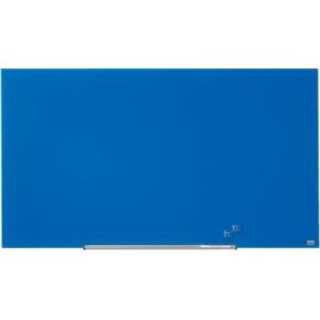 Nobo Diamond glastavle i blå - 71,1 x 126 cm