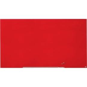 Nobo Diamond glastavle i rød - 105,9 x 188,3 cm