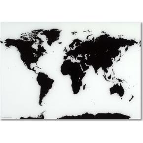 verdenskort med magneter