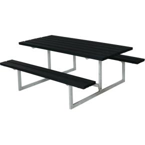 Plus Basic bord-bænkesæt, Sort