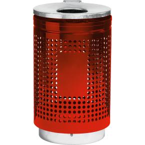 RMIG affaldsspand type 823U, rød