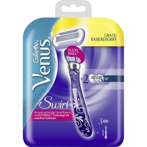 Gillette Venus Swirl barberskraber + 2 refillblade