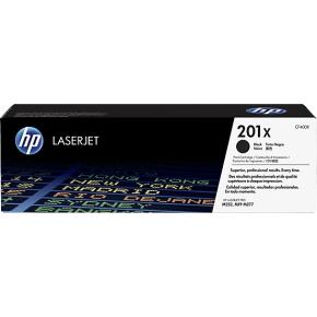 HP 201X/CF400XD lasertoner sort, 2800 sider, 2-pak