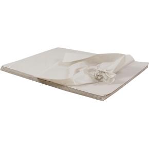 Silkekardus 60 x 80 cm, hvid, 480 ark