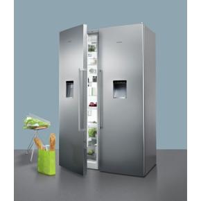 Siemens KS36WPI30 køleskab i stål, A++, 346 L