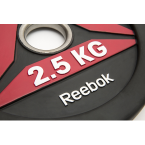 Reebok Functional BumperPlate, 2,5 kg