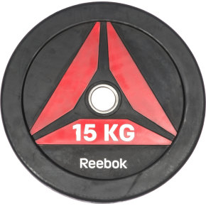 Reebok Functional BumperPlate, 15 kg