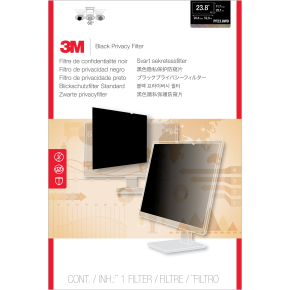 "3M PF23.8W9 Privacy Filter - Passer til 23.8"" LCD"