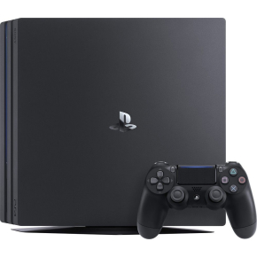 Sony Playstation 4 Pro 1TB, sort