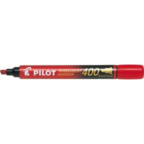 Pilot 400 permanent marker, rød