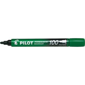 Pilot 100 permanent marker, grøn
