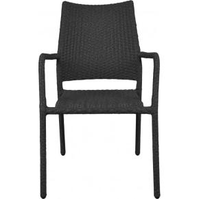Bologna havemøbelsæt til 4 pers. - stabelstole