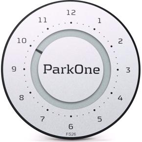 ParkOne 2 P-timer, titanium silver