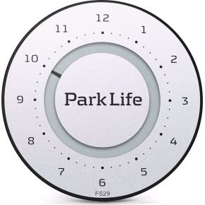 Park Life - parkeringsskive, titanium silver