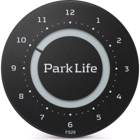 Park Life - parkeringsskive, carbon black