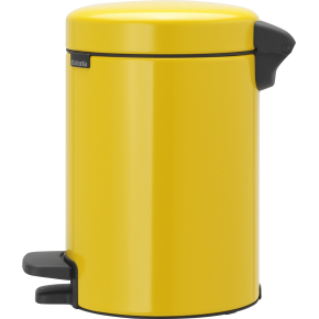 Brabantia Pedalspand 3 L, daisy yellow