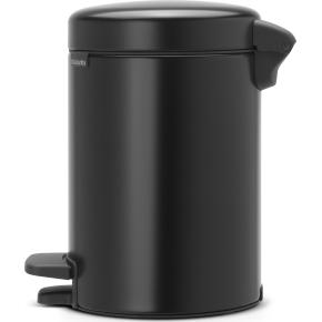 Brabantia Pedalspand 3 L, matt black