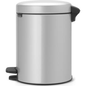 Brabantia Pedalspand, 5 L, metallic grey