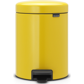 Brabantia Pedalspand, 5 L, daisy yellow