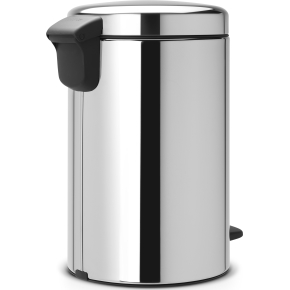 Brabantia Pedalspand 12L, metal, brilliant steel