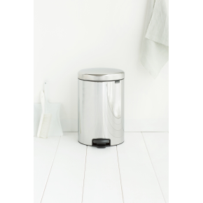 Brabantia Pedalspand, 20 L, brilliant steel