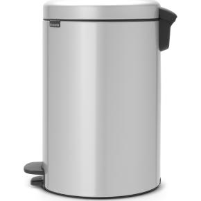 Brabantia Pedalspand, 20 L, metallic grey