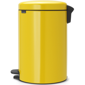Brabantia Pedalspand, 20 L, daisy yellow