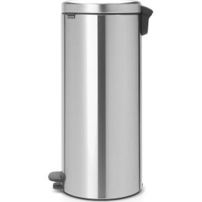 Brabantia Pedalspand, 30 L, metal, matt steel