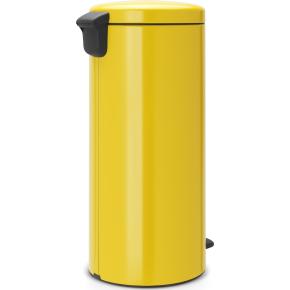 Brabantia Pedalspand, 30 L, daisy yellow