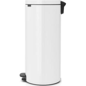 Brabantia Pedalspand, 30 L, white