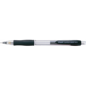 Pilot Super Grip pencil H 185, 0,5mm, sort