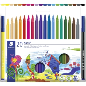 Staedtler Noris Club tuscher 20 stk. ass
