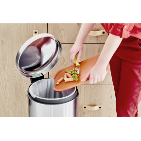 Brabantia Pedalspand, 30 L, brilliant steel
