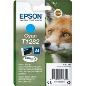 Epson nr.T1282/C13T12824012 blækpatron, blå, 175s
