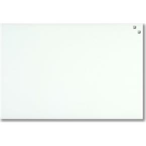 Glassboard magnetisk glastavle 40 x 60 cm, hvid
