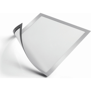 Durable DURAFRAME Magnetic A4 sølv, 5 stk.