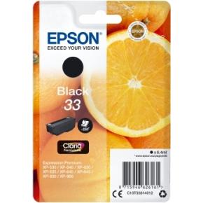 Epson 33 blækpatron, sort