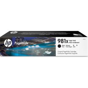 HP 981XL/L0R12A, XL blækpatron, sort, 11000s