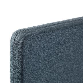 Easy bordskærmvæg H65xB160 cm grå