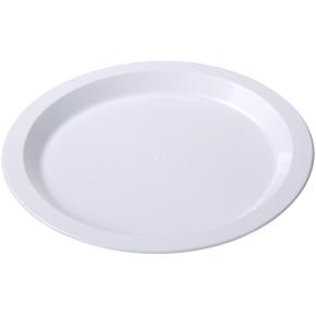 Plasttallerken middag luksus 24 cm