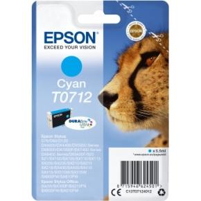Epson nr.T0712/C13T07124012 blækpatron, blå, 280s