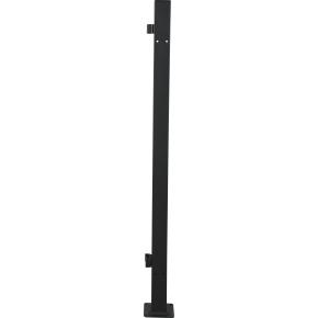 Outfit stolpe til solsejl i metal - 7x7x140 cm