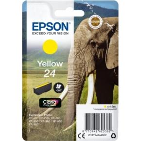 Epson nr.T2424/C13T24244022 blækpatron, gul, 360s