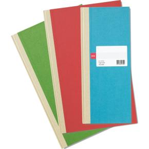 Esselte Protokol tværlinj., folio, 144 blade, ass.
