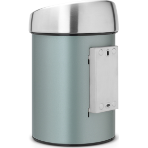 Brabantia Touch Bin 3 L t. væg, metallic mint