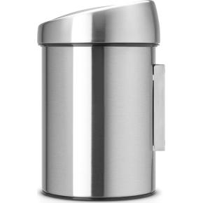 Brabantia Touch Bin 3 L t. væg, matt steel