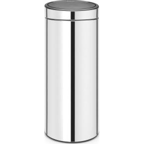 Brabantia Touch Bin 30 L, brilliant steel