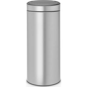 Brabantia Touch Bin 30 L, metallic grey